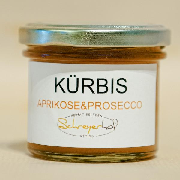 Kürbis Aprikose Prosecco